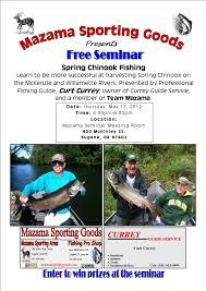 Ccw Reciprocity Map Spring Chinook Fishing Seminar Mazama Fishing Pro Shop U0026 Gun Room