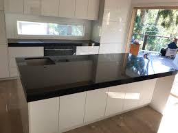 absolute black granite kitchen benchtop granite marella