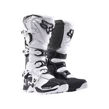 motocross boots fox 2017 comp 5 mx motocross boots white black