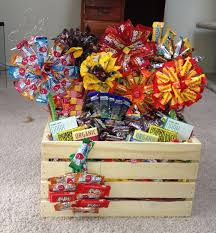 25 best candy baskets ideas on candy gift baskets