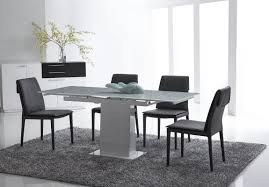 bellini modern living bonn extendable dining table wayfair