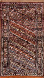 3x6 Rugs Kazak Moharramat Russian Oriental Area Rug