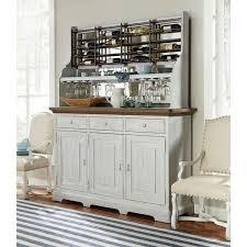wine rack credenza