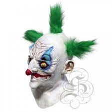 killer clown mask sinister killer clown with chest mask