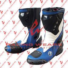 motorcycle racing boots racing wears bmw motorrad motorbike racing leather boots racing wears