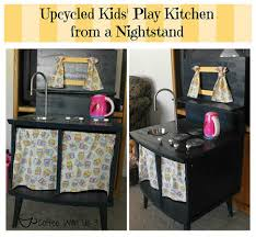 play kitchen from furniture 5 ideas to repurpose furniture into creative play for