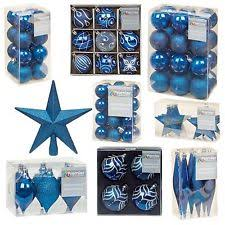 Blue Christmas Trees Decorating Ideas - christmas tree decorations ebay