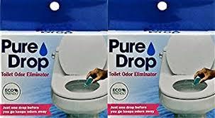 Best Odor Eliminator For Bathroom Amazon Com Pure Drop Toilet Odor Eliminator 0 67 Fl Oz Pack Of