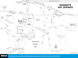 Mammoth Map Mammoth Lakes Springs Map My Blog