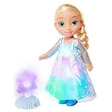 disney frozen northern lights elsa music and light up dress new disney frozen northern lights elsa doll amazon co uk toys games