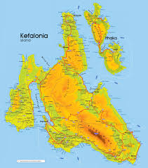 Greece On The Map by Pythos Studios And Apartments In Kefalonia Self Catering