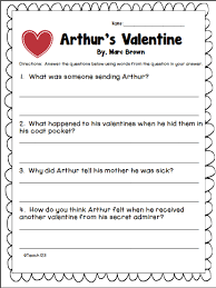 reading comprehension worksheets and answers mreichert kids