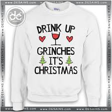 grinch christmas sweater christmas sweater drink up grinches review