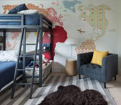 Bunk Beds Boston Boston Grand Rapids Transitional With Wall Murals