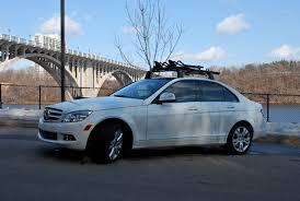 mercedes c class roof bars c300 with bike rack mbworld org forums