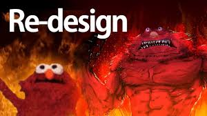 Elmo Meme - speedpaint burning elmo meme redesign youtube
