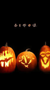 download wallpaper 1080x1920 halloween holiday pumpkin faces