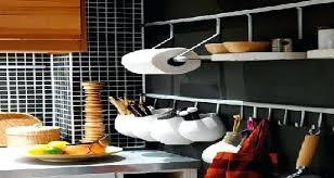 barre de rangement cuisine barre pour ustensile de cuisine set accessoire cuisine barre murale
