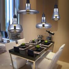 online get cheap glass hanging light aliexpress com alibaba group creative modern home light gray smoke glass pendant light bedroom dining room pendant lamps bar cafe