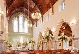 creating fabulous floral decorations for a church wedding u2014 neill