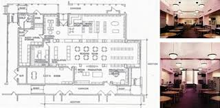 floor plan and interiors of fisher fienberg elementary