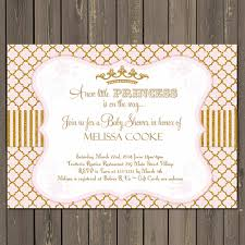 pink and gold baby shower invitations princess baby shower invitation gold and pink baby shower