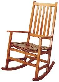Rocking Chair Runner Coaster Rockers Casual Traditional Wood Rocker Dunk U0026 Bright