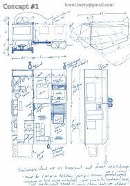 Houseboat Floor Plans by Trailerable Unfolding Houseboat Page 3 Boat Design Net