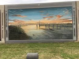 vicksburg to kosciusko mississippi u s by us one of the murals depicts president theodore roosevelt after a hunting trip in onward ms about ten miles from vicksburg not shooting a bear tied to a