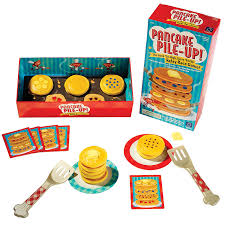 amazon com educational insights pancake pile up relay game toys
