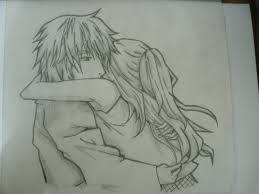 pictures anime couple drawing pencil drawing art gallery