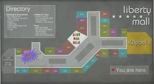 Florida Mall Map by Shopping Mall Collab