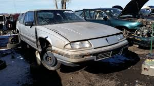 1989 pontiac grand prix coupe with rare manual option u2013 junkyard