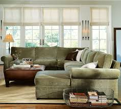 Pottery Barn 3 Piece Sectional Pottery Barn Sectional Pearce Sectional Slipcovers Pottery Barn
