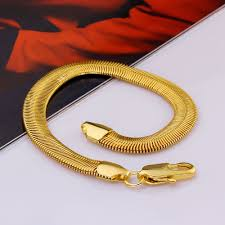 new arrival fashion style gold plated alloy snake shape unisex geometry alloy gold plated 20cm snake chain