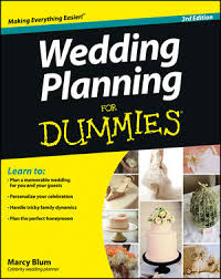 self wedding planner wedding planning for dummies 3rd edition relationships