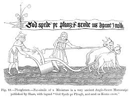 file ploughmen fac simile of a miniature in a very ancient anglo