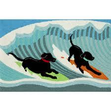 Outdoor Mats Rugs by Surfing Dogs Indoor Outdoor Rug Sturbridge Yankee Workshop