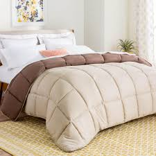 Down Alternative Comforter Twin Xl Linenspa All Season White Down Alternative Oversized Queen Quilted