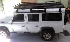 land rover discovery safari roof racks hannibal safari equipment