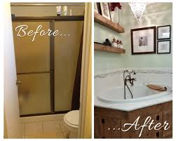 Before After Bathroom Makeovers - our bathroom makeover