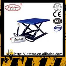 Pallet Lift Table by 150kg Personal Hydraulic Single Hand Scissor Lift Table Trolley