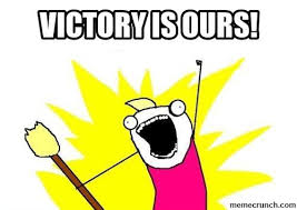 Victory Meme - is ours