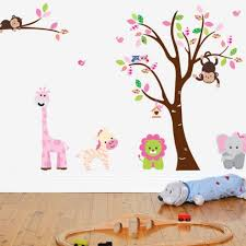 Animal Wall Decals For Nursery by 23 Baby Nursery Tree Wall Decals Tree Wall Decal For Nursery