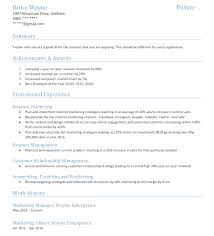 28 Awards On Resume Example by Modern Resume Business Administration Example Marketing