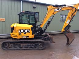jcb 85z 1 manchester crawler excavators year of manufacture 2014