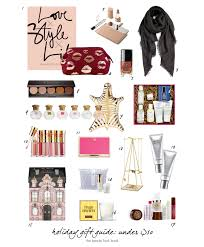 holiday gift guide picks under 50 for her the beauty look book