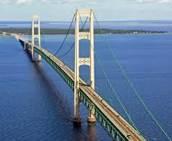 Michigan Fall Color Map by Mackinac Bridge Wikipedia