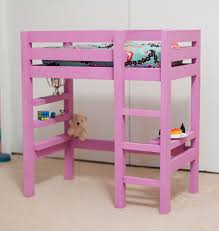 ana white doll bunk bed plan with a bit of the loft bed plan