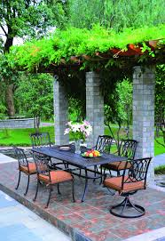 Hanamint Patio Furniture Reviews by Hanamint Mayfair Oval Dining Table All Things Barbecue